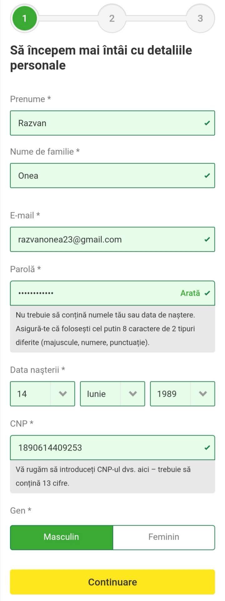 Formular Inregistrare Unibet Mobil