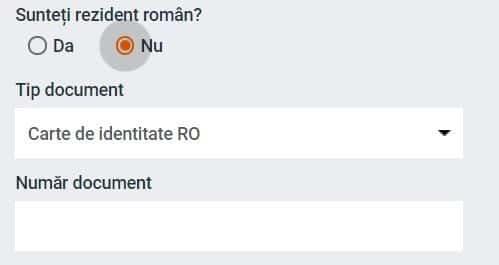 Nu Sunt Rezident Roman