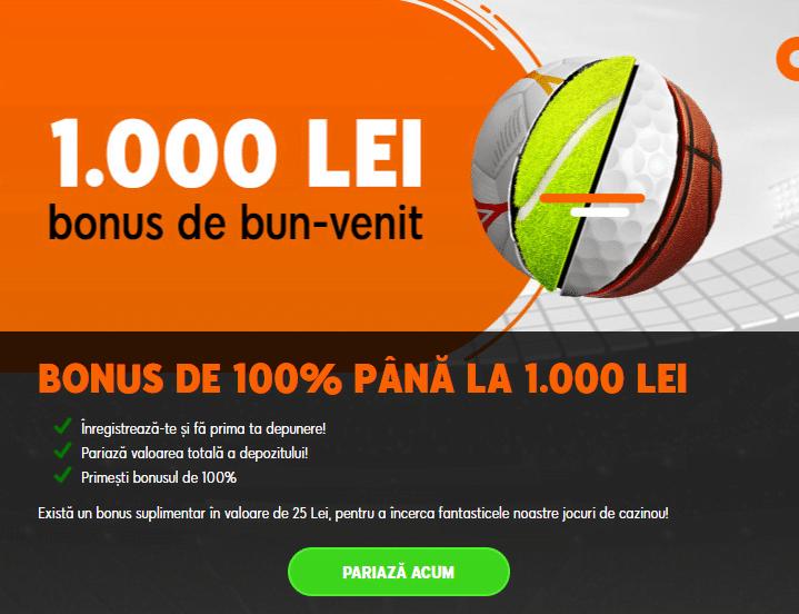 Bonus 888 Pariuri