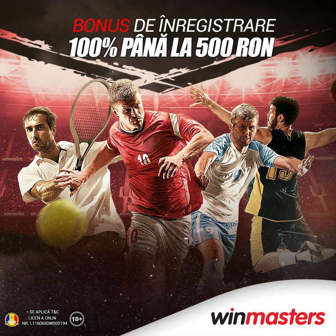 Oferta Bonus Winmasters Pariuri